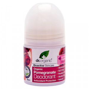 Dr. Organic Pomegranate Deodorant Roll-on (50 ml)