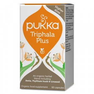 Pukka Triphala Plus - Ekologisk (60 kapslar)