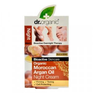 Dr. Organic Night Cream Argan (50 ml)