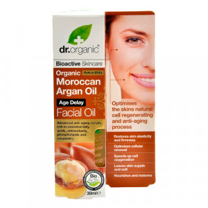 Dr. Organic Facial Serum Argan (30 ml)