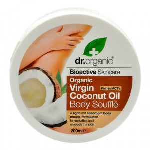Dr. Organic Body Soufflé Coconut (200 ml)