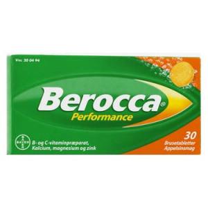 Berocca® m. appelsinsmag - 30 Tab.