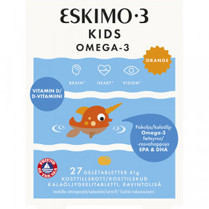 Eskimo 3 Kids Chewable (27 st)