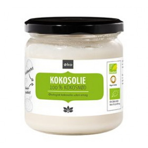 Cosmoveda, kallpressad kokosolja utan smak - Ekologiskt (325 ml)