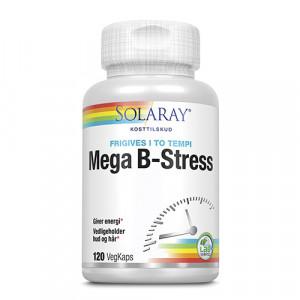 Solaray Mega B-Stress (120 kapsler)