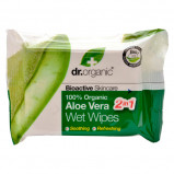 Dr. Organic - Våtservetter Aloe Vera (20 st)