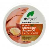 Dr. Organic - Body Soufflé Arganolja (200 ml)