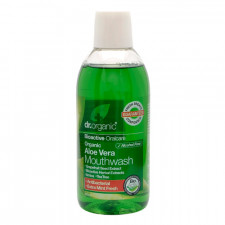 Dr. Organic Aloe Vera Mundskyl (500 ml)
