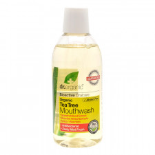 Dr. Organic Tea Tree Mundskyl (500 ml)