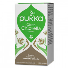 Pukka Clean Chlorella - Ekologiskt (500 mg, 150 tabletter)