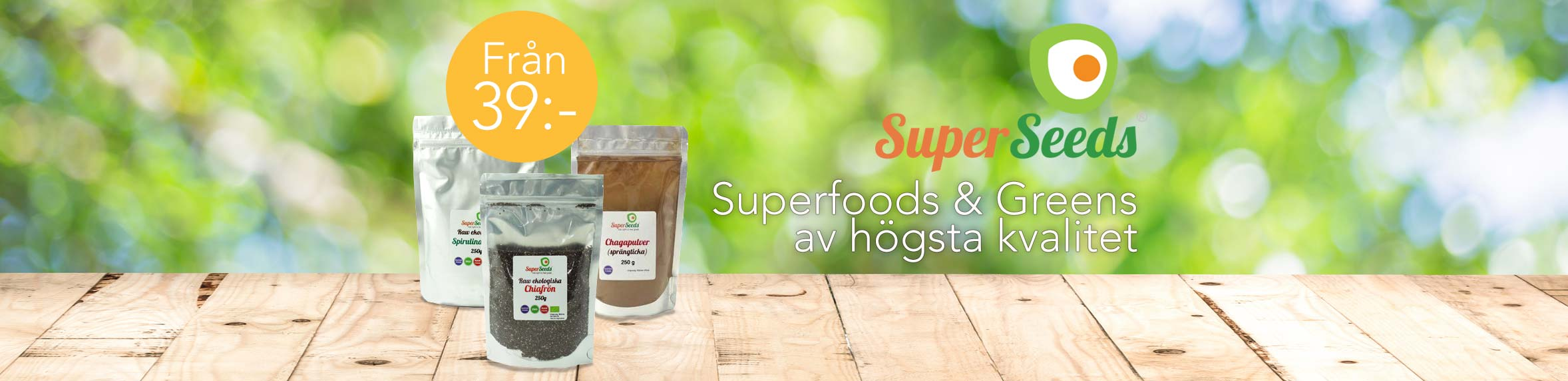 Superfoods från SuperSeeds